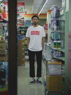42 Cozy Men's Street Style Idea Urban Outfits, Cool Outfits, Fresh Outfits, Simple Outfits, Sport Outfits, Trendy Outfits, Estilo Vans, Skater Outfits, Tokyo Street Style