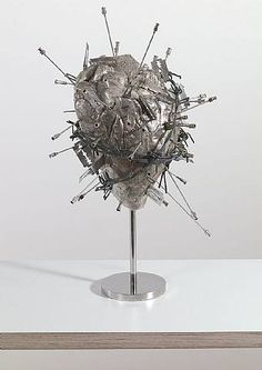 The Sacred Heart by Damien Hirst.  This is how mine feels at times...