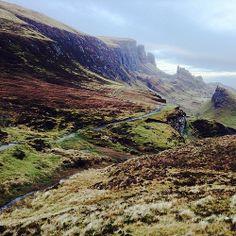 Stunning vista of the Quiraing, Isle of Skye