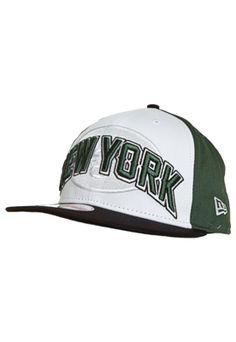 Boné  NewEra 59Thirty NFL Draft New York Jets Verde Branco - Compre Agora f0ba9c74ac853