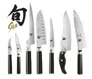 Shun knives are the must have knife for a chef! Japanese Cooking Knives, Japanese Kitchen Knives, Japanese Chef, Shun Knives, Kitchen Cutlery, Chef Kitchen, Engraved Pocket Knives, Cooking Classes For Kids, Specialty Knives