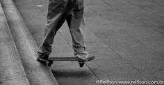 Foto Skate: Só do skate!