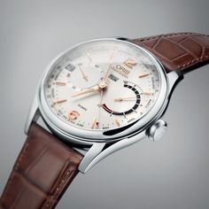 """The new Artelier Calibre 113 from Oris, launched at Baselworld 2017, features a so-called """"business calendar,"""" with indications for the day, date, week, and month of the year: http://www.watchtime.com/wristwatch-industry-news/watches/getting-down-to-business-oris-artelier-calibre-113/ #ElectronicsStore"""
