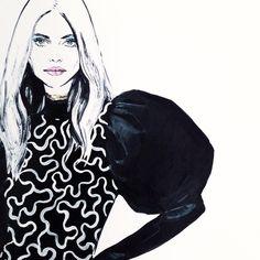 """""""J W Anderson #johnatananderson #jwanderson #fashion #fashionsketch…"""