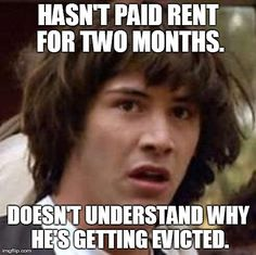 Eviction - so complicated.