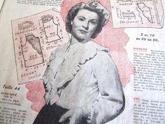 Vintage French Fashion Ladies' Magazine Le Petit Echo de la Mode Sewing Patterns | eBay
