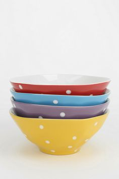 Sprinkle Dot Bowl #urbanoutfitters