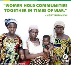 Great blog post by Mary Robinson: 'Democratic Republic of the Congo's women hold key to lasting peace'. Please REPIN http://www.theguardian.com/global-development/poverty-matters/2013/aug/12/democratic-republic-congo-women-peace