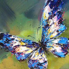 cuadros abstractos mariposas - Buscar con Google