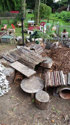 Ideas for guinea pigs outdoor park
