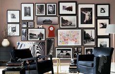 Gallery Wall: decorare con le fotografie