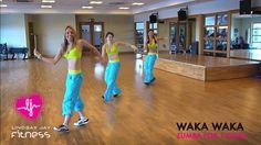 Zumba- Shakira- Wakawaka love it Zumba Videos, Choreography Videos, Dance Videos, Workout Videos, Zumba Fitness, Dance Fitness, Tae Bo, Zumba Routines, Waka Waka