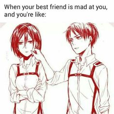 It is just like this. - Mikasa & Eren - Attack on Titan - Shingeki no Kyojin