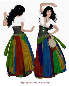 The top Renaissance Gypsy Clothing Bohemian Gypsy, Gypsy Style, Renaissance Gypsy, Fortune Teller Costume, Renaissance Festival Costumes, Gypsy Costume, Period Outfit, Gypsy Dresses, Fantasy Costumes