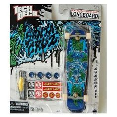 Tech Deck Long board, i actually like long boards a little better than regular tech decks Tech Deck, Skates, Skateboarding, Bmx, Decks, Finger, Boards, Gift Ideas, Toys