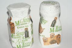 Słoiki ozdobne  Green tea