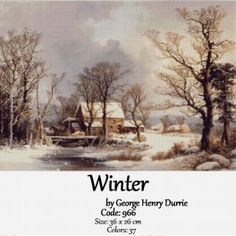 Winter by George Henry Durrie