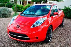 Nissan Sparky – Le pick-up né de la fusion d'une Nissan Leaf et d'un Nissan Frontier - via www.nissan-couriant.fr