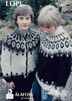An old Icelandic pattern (reprinted as Dalur in Knitting with Icelandic Wool)