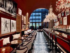 Bar and Dining at Baccarat Hotel New York
