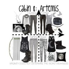 Cabin 8: Artemis: if she could have children in any way, I would want to be in that cabin