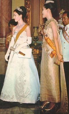 The Imperial Majestiy the Empress of Japan andThe Majesty Queen of Thailand.