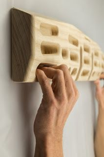 Fingerboarding for first timers - Effective and simple advice with workouts to get you started. Home Gym Garage, Diy Home Gym, Gym Room At Home, Home Climbing Wall, Rock Climbing Workout, Bouldering Wall, Climbing Holds, Home Gym Design, Outdoor Gym