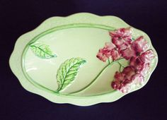 quality antique ceramics, glass and collectables Vintage Dishes, Vintage China, Susie Cooper, Carlton Ware, Pink Hydrangea, Wedgwood, Porcelain, Blue And White, Pottery