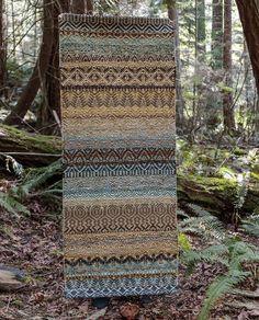 True North Textiles - Custom Handwoven Rugs — Multi Weave Bronze x