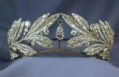Laurel Leaf Tiara - Queen Sophia of Greece @Remi Brosseau