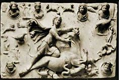 """#Mithras: """"Mithra was born on December 25th   •  Was wrapped in swaddling clothes, placed in a manger and attended by shepherds.   • Had 12 companions or """"disciples.""""   Vewed as the Good Shepherd, the """"Way, the Truth and the Light,"""" the Redeemer, the Savior, the Messiah.   • Was identified with both the Lion and the Lamb.   • Sacred day was Sunday, """"the Lord's Day,""""  • His religion had a eucharist or """"Lord's Supper.""""      • --DM Murdock/Acharya S  """"Mithra The Pagan Christ"""""""