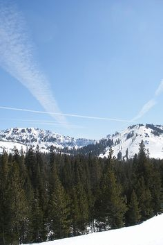 Donner Pass, California. Glorious scenery, and ghastly history.