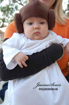 Star Wars Kids Costumes DIY Adorable) wish I wouldu0027ve seen this when  sc 1 st  Pinterest : baby leia costume  - Germanpascual.Com