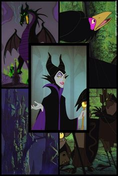ultimate in intimidating. Malificent my favorite Disney Villain