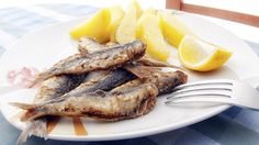 Fried sardines have been a favorite snack in Venice since the 13th century and are served simply with a drizzle of lemon juice, olive oil and parsley.