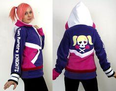 Lollipop Chainsaw -- Juliet Starling hoodie! by Lisa-Lou-Who.deviantart.com on @deviantART