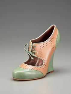 Wedge oxfords!