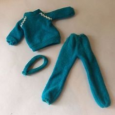 Sindy vintage dolls clothes 1983 Keeping Fit 44015 Jogging Tracksuit + Headband