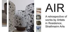 Invitation for the AIR: A retrospective of artists in residence, Strathnairn Arts, January to March 2015