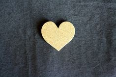DIY - Glitter Heart Pin by Caught On A Whim, via Flickr