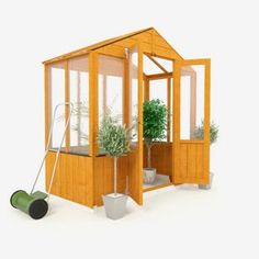 Buy BillyOh Wooden Polycarb Greenhouse - 3 x 6ft at Argos.co.uk - Your Online Shop for Greenhouses.