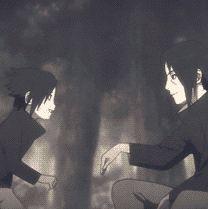 Little Sasuke and Itachi