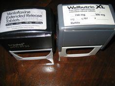 WELLBUTRIN & VENLAFAXINE  DRUG REP REPRESENTATIVE PROMO AUTO STAMPERS VERY RARE
