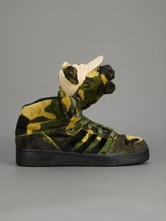 Adidas Originals By Jeremy Scott - camo bear sneaker 2