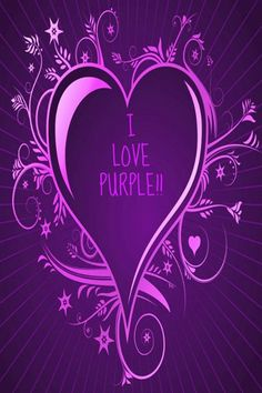 I LOVE PURPLE CREATED BY DEBORAH
