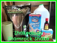 Shakeology Shamrock Shake/ Thin Mints Girl Scout Cookie shake
