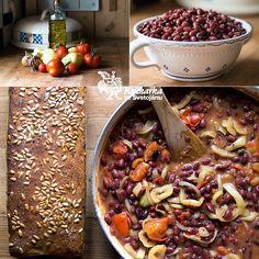 Kuchařka ze Svatojánu: FAZOLOVÝ GULÁŠ Pot Roast, Chili, Clean Eating, Soup, Vegetables, Ethnic Recipes, Bulgur, Carne Asada, Healthy Meals