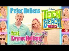 ▶ Disney Teen Beach Medley - Peter Hollens feat. Evynne Hollens - YouTube