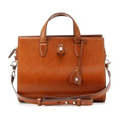 mytheresa.com - PELICAN LEATHER SATCHEL - bags - Luxury Fashion for Women / Designer clothing, shoes, bags
