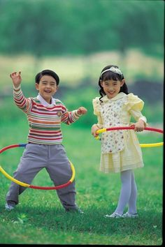 Hula Hoops make Saturdays in the backyard special!